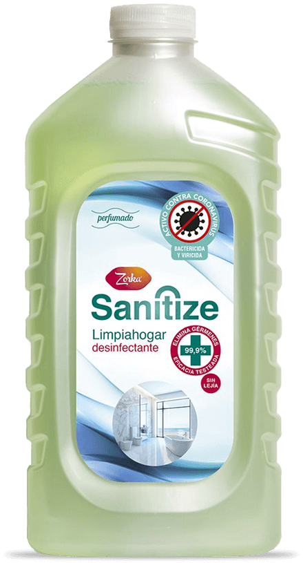 ZORKA SANITIZE, Limpiahogar desinfectante